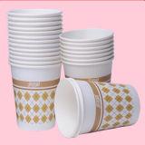Taza de papel disponible respetuosa del medio ambiente de la bebida 8oz para el café