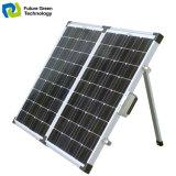 キャンプのためのケイ素DCの家のポーランド人によって取付けられる太陽電池パネル