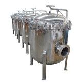 Tratamento da água da carcaça de filtro do saco do parafuso do balanço