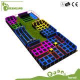 Освободите подгонянный конструкцией большой коммерчески парк Trampoline для по-разному мест