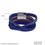 Magnetischer Haken-mehrschichtige Legierungs-Armband-Form-Nachahmung-Schmucksachen