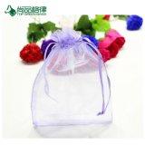 La Chine personnalisent le petit sac bon marché d'emballage de cordon d'organza de cadeau de sucrerie