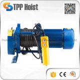 電気ワイヤーロープ起重機かKcdの電気起重機またはKcd持ち上がるモーター1tケーブルの起重機