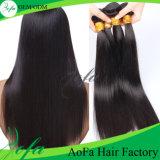 100% необработанные Virgin прямые волосы волос человека Бразилии