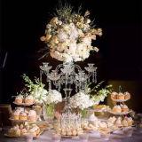 고도 아크릴 수정같은 테이블 중앙 장식품 화초대 촛대 결혼식 훈장