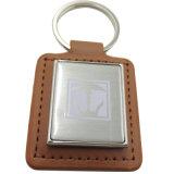 Chaîne de clé vierge métalliques personnalisées avec son propre logo (XDKC-012)