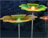 Angeschaltenes Garten-Blumen-Licht-neuer Entwurf SolarArylic Blumen-Solarlicht