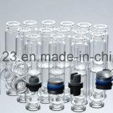 Niedrige Borosilicat-Glas-Röhreneinspritzung-Flasche (1ml-50ml)