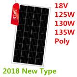 18V 125W-135Wの多太陽電池パネル(2018年)