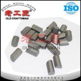 Dígitos binarios de botones cementados del carburo de tungsteno para las herramientas de la explotación minera