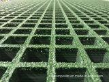 El FRP/GRP rejillas moldeado para la construcción decoración &/malla de fibra de vidrio
