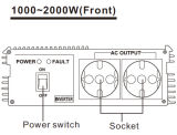 Het Schakelschema van de Omschakelaar gelijkstroom 12V AC 220V 1200W van de Macht van Ce RoHS Van Net