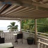 Pergola Eco-Friendly ao ar livre da proteção de chuva para o balcão