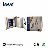 preço de fábrica! ! ! Dom Box-Video Vídeo LCD personalizado caixa de apresentação