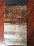tela de confeção de malhas da camurça da tela 100%Polyester com bronzagem