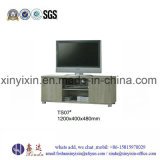 Europa-Art-moderner Melamin Fernsehapparat-Standplatz-Schrank (TS05#)