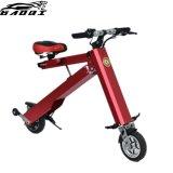 Dobrável urbana e aluguer de bicicletas eléctricas Veículo Motociclo Scooter dobrável com 350W motor silencioso