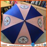 parapluies promotionnels faits sur commande protégeant du vent du golf 27inch