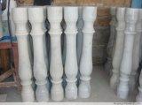 Chiva 중국 백색 대리석 돌 Polished 포스트 또는 손잡이지주 또는 Bottomrail 또는 난간 또는 란 또는 기둥 또는 담 또는 Baluster