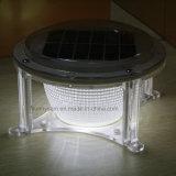 6V/1,5 W Lampe solaire LED lampe de feu pilier de l'éclairage automatique pour jardin de la route de clôture