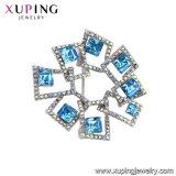 Kristalle von der Swarovski Element-Brosche für Hochzeits-Einladungen
