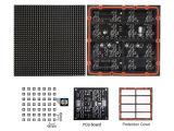 Módulo ao ar livre do indicador de diodo emissor de luz da cor cheia de P6 SMD