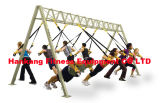 la strumentazione di ginnastica, macchina di forma fisica, arricciatura solida Preme-Giù la barra (HB-007)