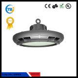 Poder más elevado ligero de iluminación al aire libre LED del UFO LED Highbay del programa piloto 100W 150W 200W de Meanwell de la venta caliente