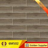 azulejo de suelo de cerámica de madera de 150X600m m (6M1506)