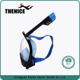 Máscara de mergulho com snorkel facial completo para mergulho