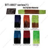 """Bti8807 5 """"別のカラー選択と作るフライフィッシング材料のための火の先端のスカート材料"""