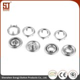 Customized Round Metal Prong Snap Short prop Garment Accessories