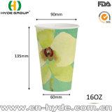 Grande capacité des boissons froides 32oz jetable tasse avec impression Flexo