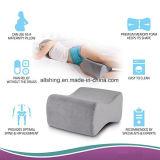 膝間のまたは膝の枕の下のメモリ泡の膝サポート枕