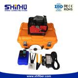 Shinho X-97 beständige Spleißstelle-Netz-Aufbau-Maschine mit zuverlässigem Kundendienst-Fabrik Abnehmer-zu den Optikschmelzverfahrens-Filmklebepressen