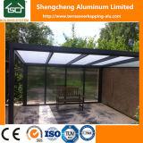 Tetti poco costosi del patio di disegno di alluminio