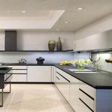 Gabinetes de cozinha modernos do MDF do lustro elevado