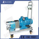Sanitaires SUS304 en acier inoxydable de la pompe à lobes rotatifs de la pompe de rotor