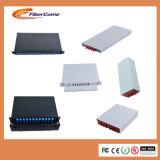 광섬유 1u 19 ' 선반 마운트 광섬유 패치 패널