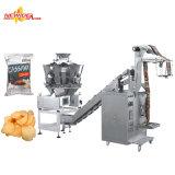 Máquina de empacotamento automática do alimento dos petiscos da banana das microplaquetas de batata da pequena escala