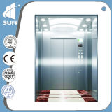 Grand ascenseur de passager de capacité de cabine de luxe de décoration