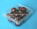 ブルーベリーのチェリーのいちごのための明確なプラスチッククラムシェルの食糧容器を包むペットまめ
