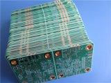 Onderdompeling Gouden rf PCB Gebouwde RO4350b met het Koper van 2 Laag