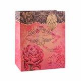 蝶パターンクラフトの洋品店の方法ギフトの紙袋