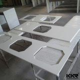 Feste Oberflächenacrylharz-Küche übersteigt Hersteller