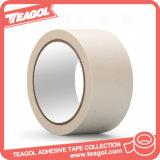 Покрашенная естественная лента бумаги Crepe слипчивая маскируя бумажная (CMPT-001)