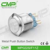 CMP 22mm senza interruttore di pulsante chiaro