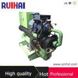 Высокая емкость полисмена 108kw/25ton охлаждая в охладителе воды Comprossor винта Hanbell системы охлаждения