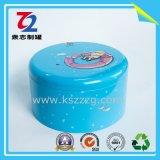 В подарочной упаковке круглый Тин может для металлических ткани .
