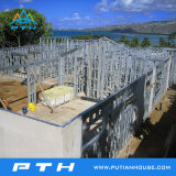 하와이에 있는 조립식 별장 빛 강철 모듈 집